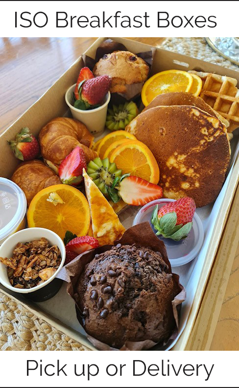 ISO Breakfast Boxes Pick up or delivery